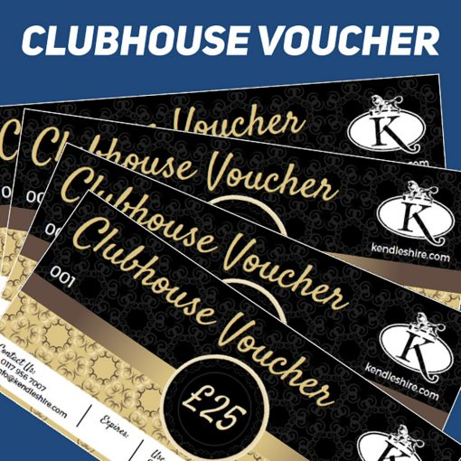 Kendleshire Clubhouse gift voucher