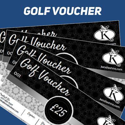 Kendleshire Golf voucher