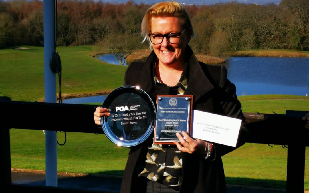 PGA award success for our lady golf coach